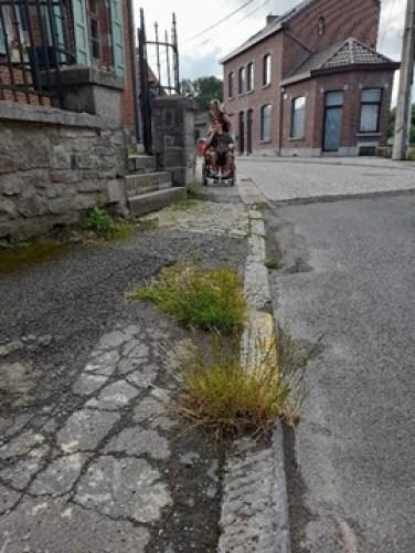 PMR - largeur des trottoirs
