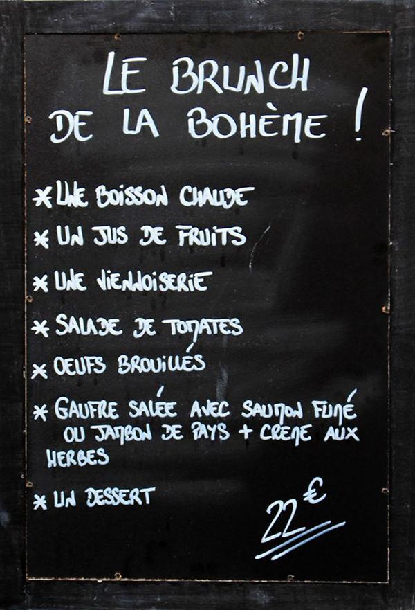 Un Brunch Bohme Rue De Turenne Les Confettis