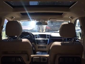 Mercedes GL 450 intérieur