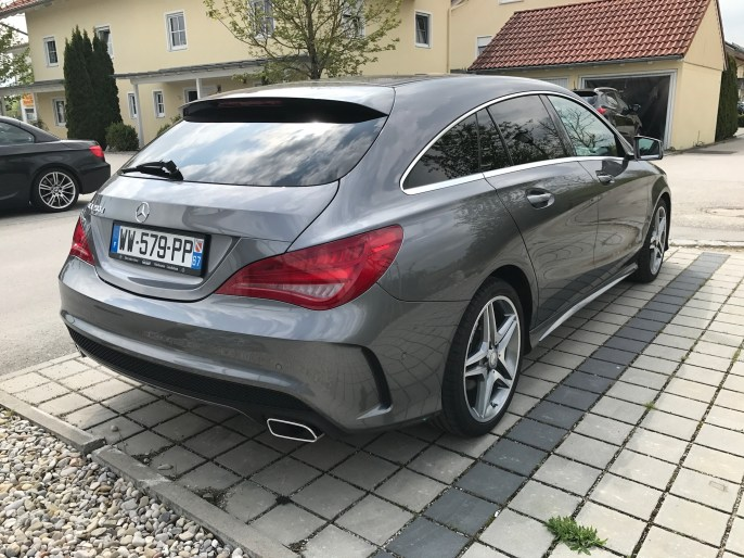 Mercedes-Benz CLA 200 D Shooting Brake 2