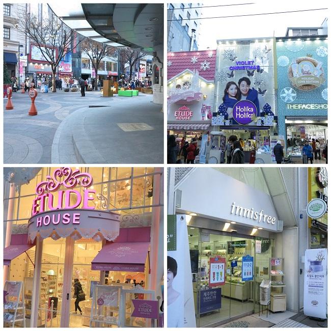 myeongdong cosmetiques