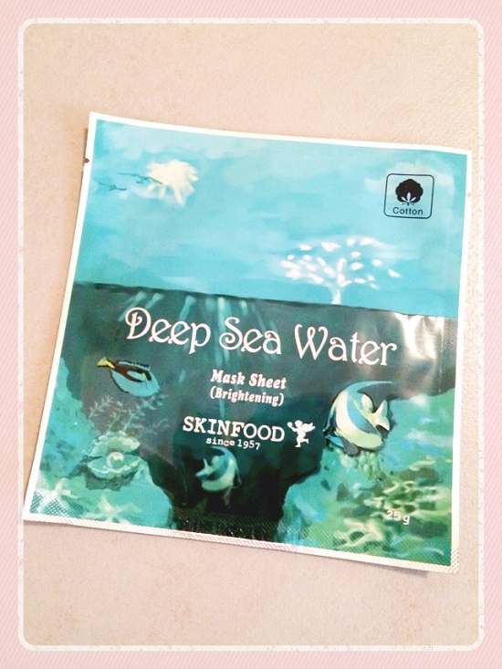 masque skin food deep sea water
