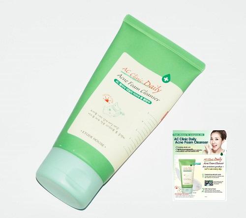 ac acne foam cleanser etude house