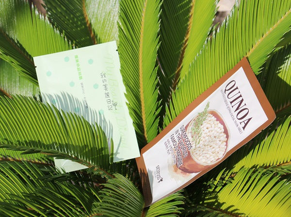 masque skin food et my beauty diary