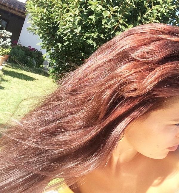 Couleur cheveux marron ice tea