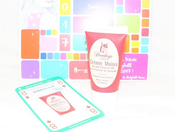 Donkeys & Co crème pour les mains à la grenade Biotyfull Box