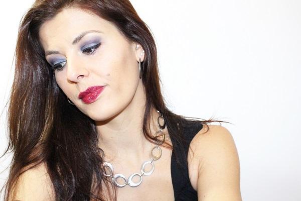 maquillage bleu soirée