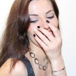 maquillage noir blanc monday shadow challenge