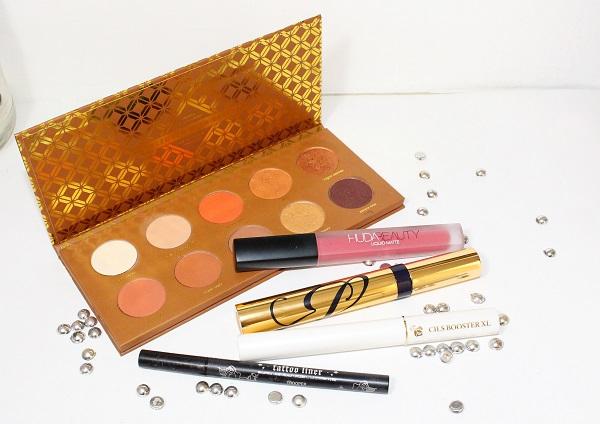 palette caramel melange maquillage bronze