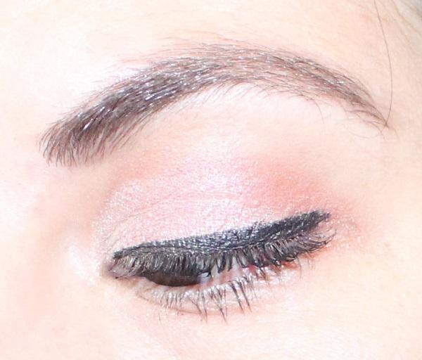 maquillage rose reveillon
