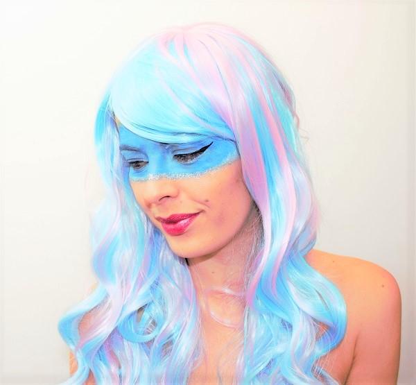 maquillage artistique futuriste beauty defi