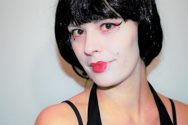 maquillage artistique geisha
