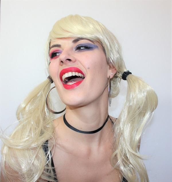 maquillage harley quinn facile