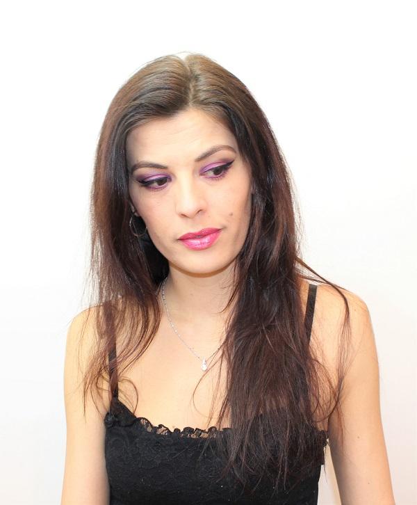 maquillage monday shadow challenge violet et fuchsia