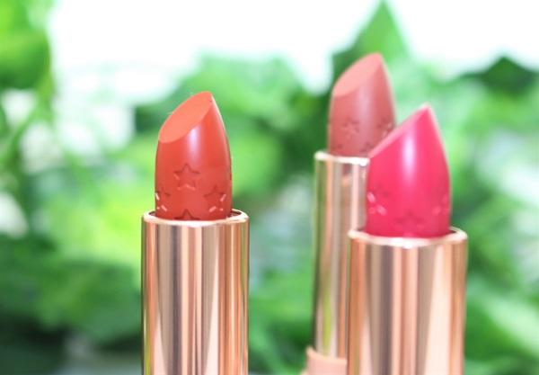 Lux Lipstick colour pop swatch