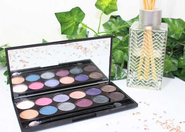 enchanted forest sleek make up one week palette