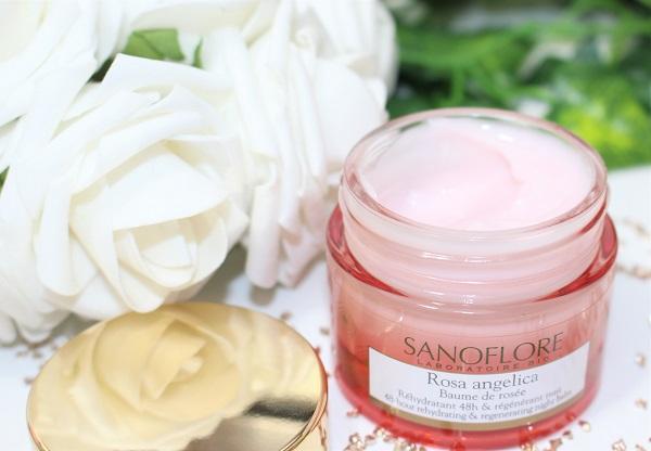 sanoflore baume de rosee rosa angelica