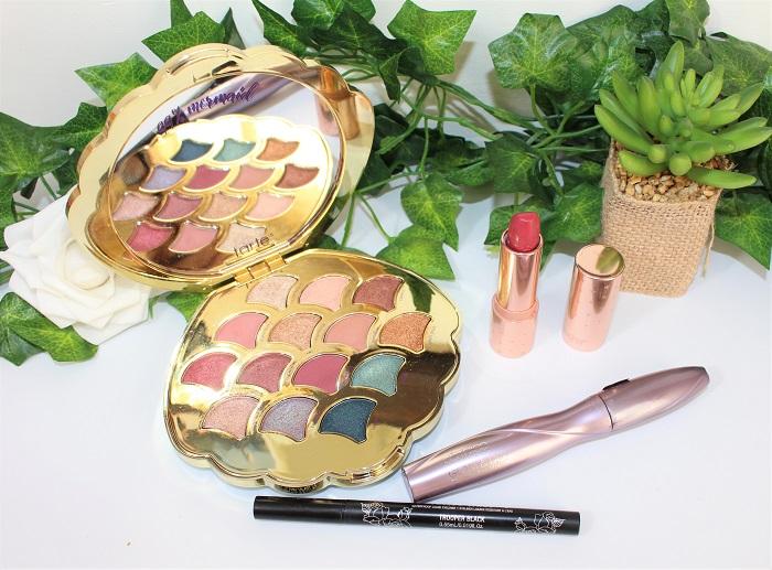 idée make up Be a mermaid & make wave de Tarte Cosmetics