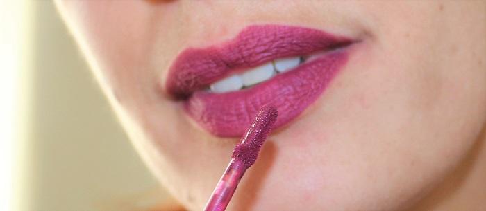 Longstay Liquid Matte Lipstick Sorbet Cassis swatch