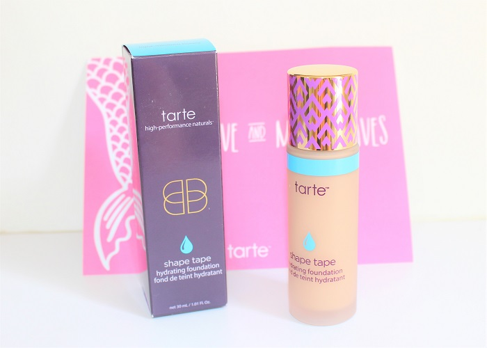 fond de teint Shape tape hydrating foundation Light Medium Honey tarte cosmetics