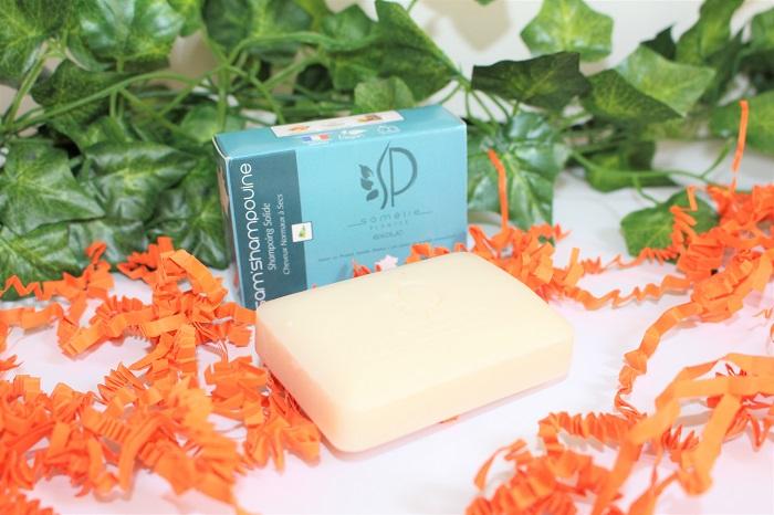 shampoing solide Sam'Shampouine de Samélie Plantes biotyfull box