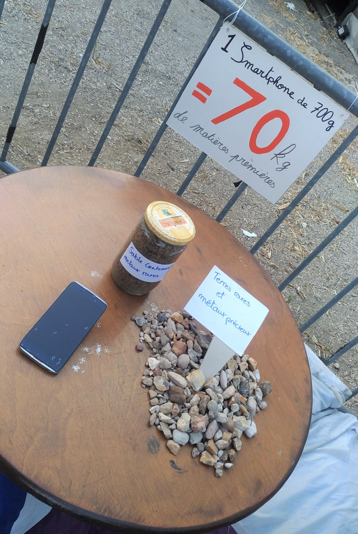 festival zero waste telephone portable