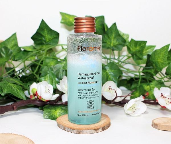 florame démaquillant biphasé waterproof bio pour les yeux