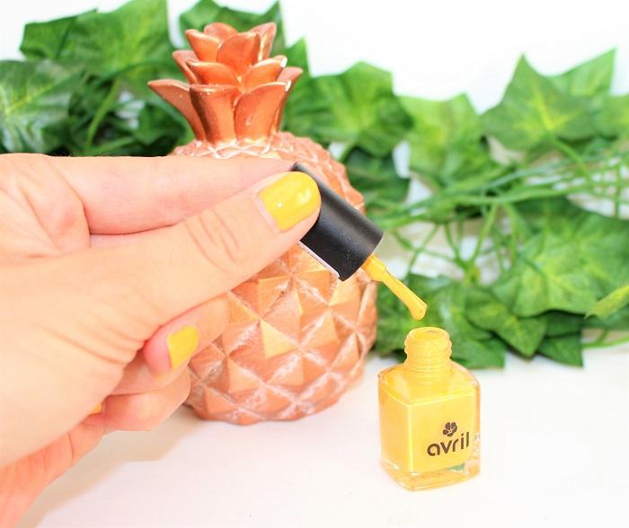 vernis à ongles naturel Mangue Avril Beauté
