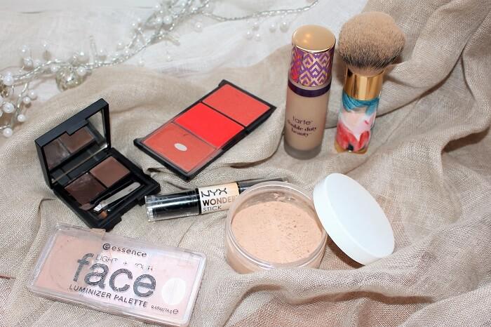 maquillage teint msc avec poudre libre maison