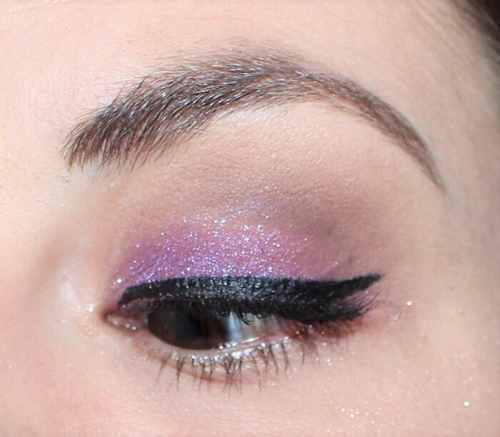 maquillage violet fard dare colour pop