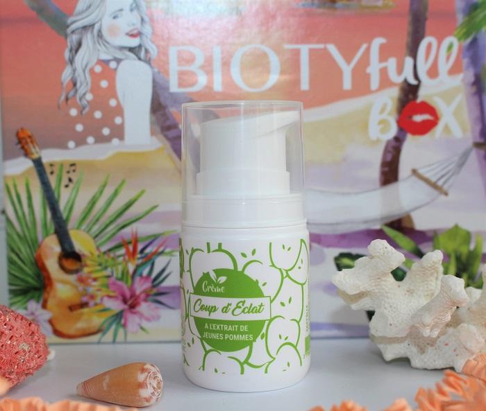 Crème Coup d'Eclat de Past'Elle biotyfull box
