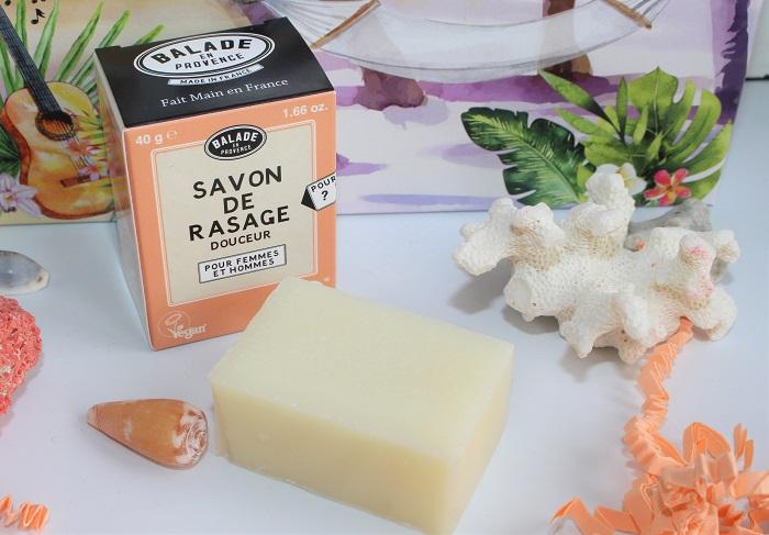 biotyfull box pain de rasage Douceur Balade en Provence