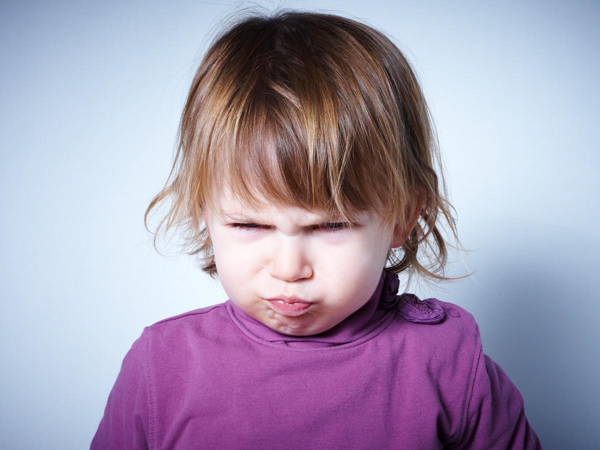 les colères de l'enfant