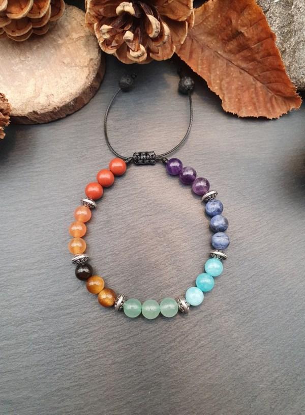 bracelet d'harmonisation des chakras