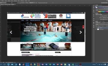 Lancement d'un nouveau site internet pour le Club Les Dauphins Audomarois