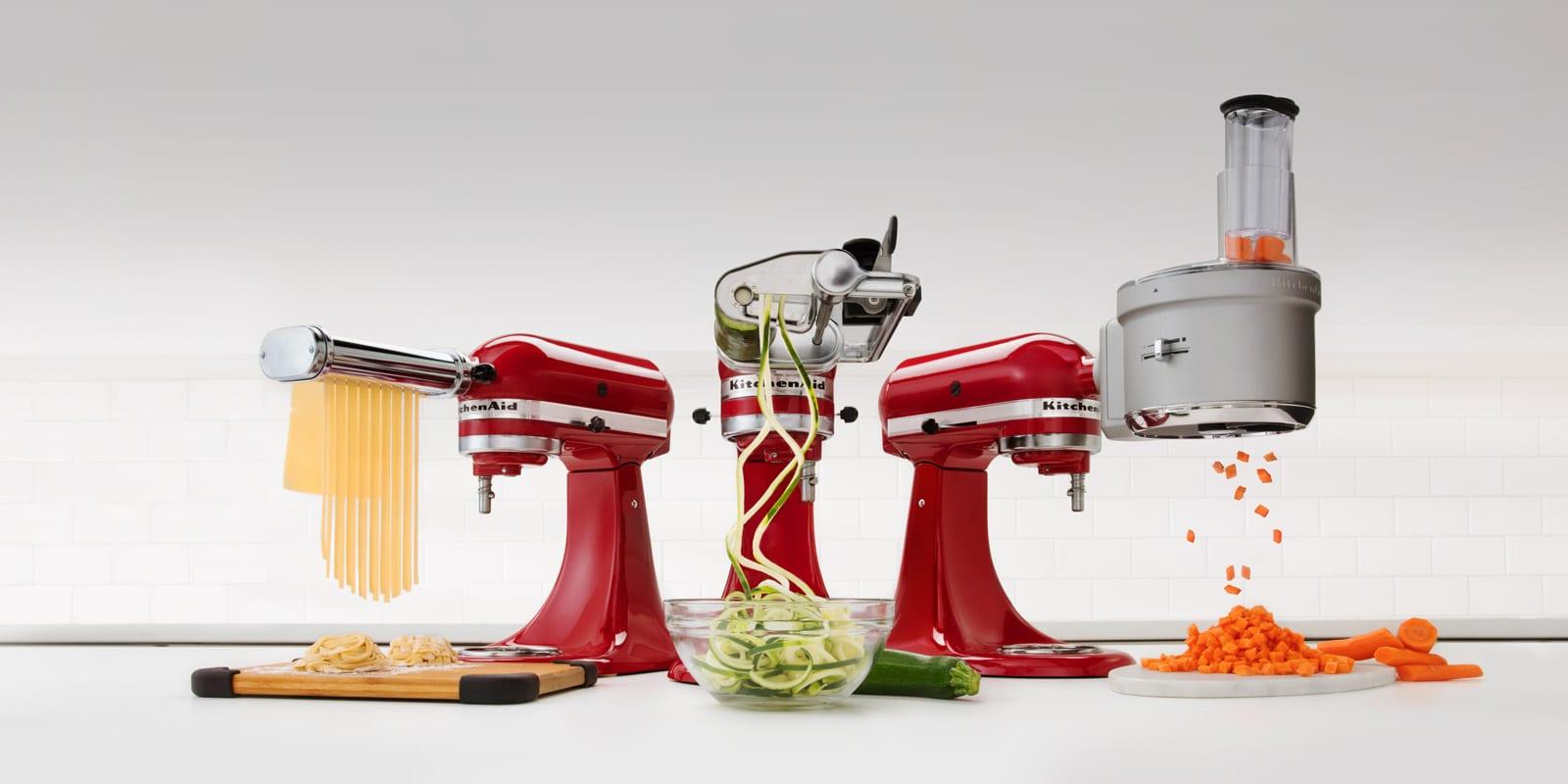 quels sont les meilleurs accessoires pour les robots kitchenaid et kenwood l avis d un chef