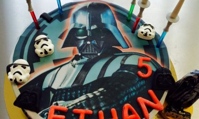 Gateau star wars