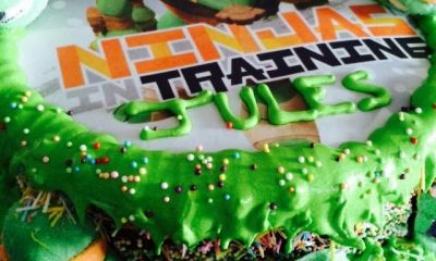 Gateau tortues ninja