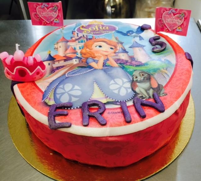 Sofia Die Erste Torte Cake Design Pate A Sucre Les Delices De Mary
