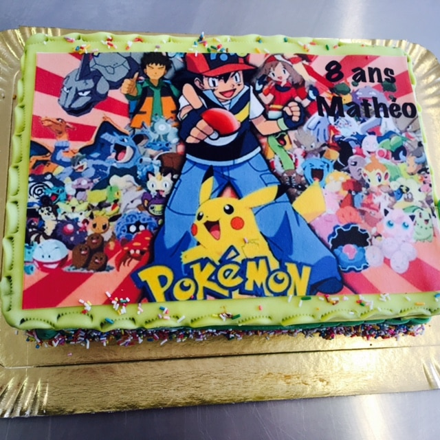 Commander un gateau pokemon