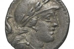 dauphin / Chiffre 57 en grec 4.01gr _ 16.3mm