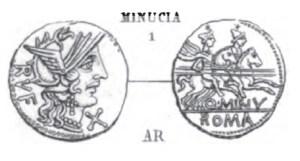 Denier Minucia _ RRC 277/1