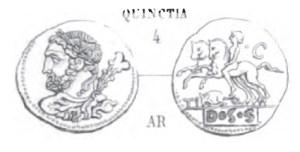 Denier Quinctia _ RRC 297/1