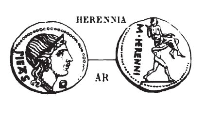 Denier Herennia _ RRC 308/1