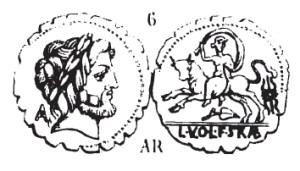 Denier Serratus Volumnia _ RRC 377/1