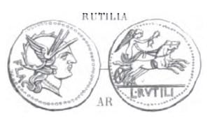 Denier Rutilia _ RRC 387/1
