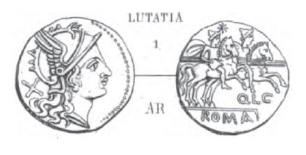 Denier Lutatia _ RRC 125/1