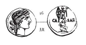 Denier César _ RRC 452/4