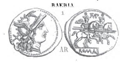 Denier Baebia _ RRC 133/2