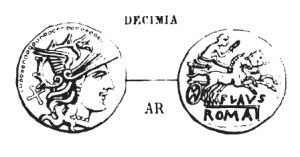 Denier Decimia _ RRC 207/1
